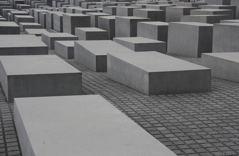 Berlino Denkmal fur die ermordeten Juden Europas