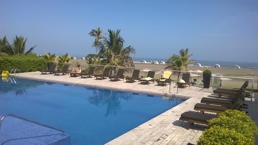 Piscina all' Holiday Inn di Cartagena