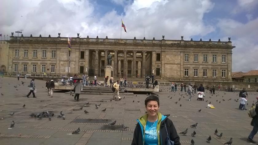 Plasa Bolivar a Bogotà