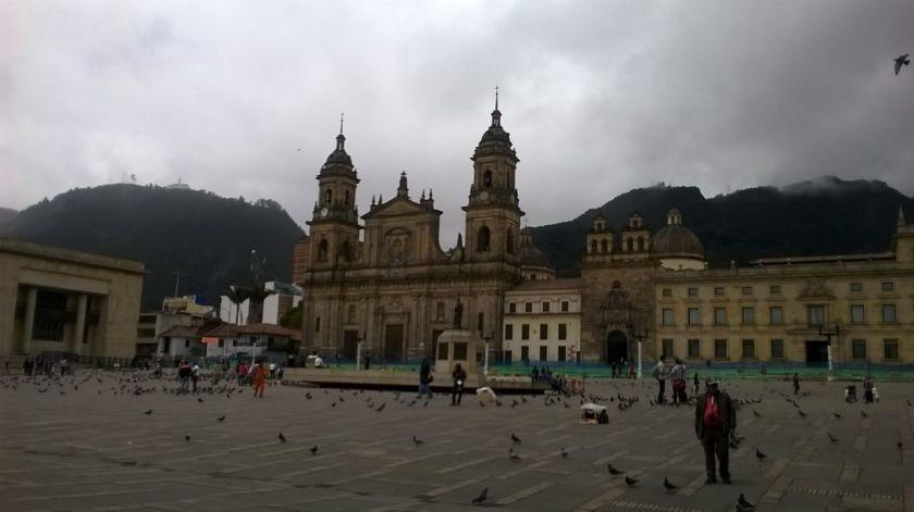 Plaza Bolivar Bogotà