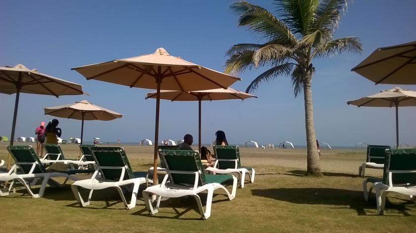 Spiaggia a Cartagena de Indias