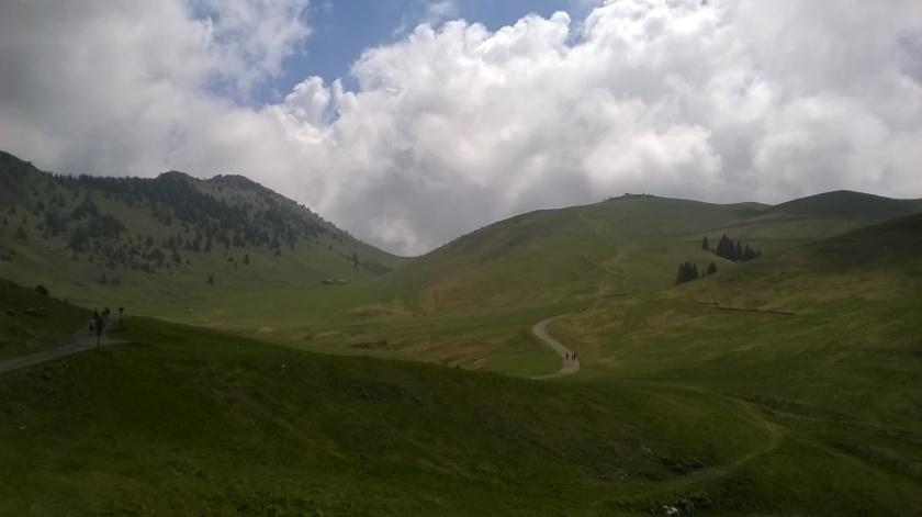 Conca della montagnina presso il Monte Farno