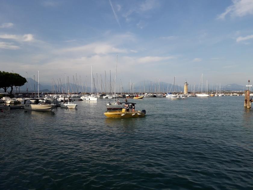 Porto turistico a Desenzano del Garda