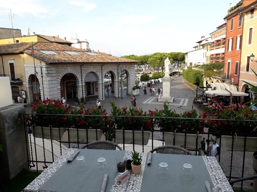 Terrazza ristorante a Desenzano del Garda