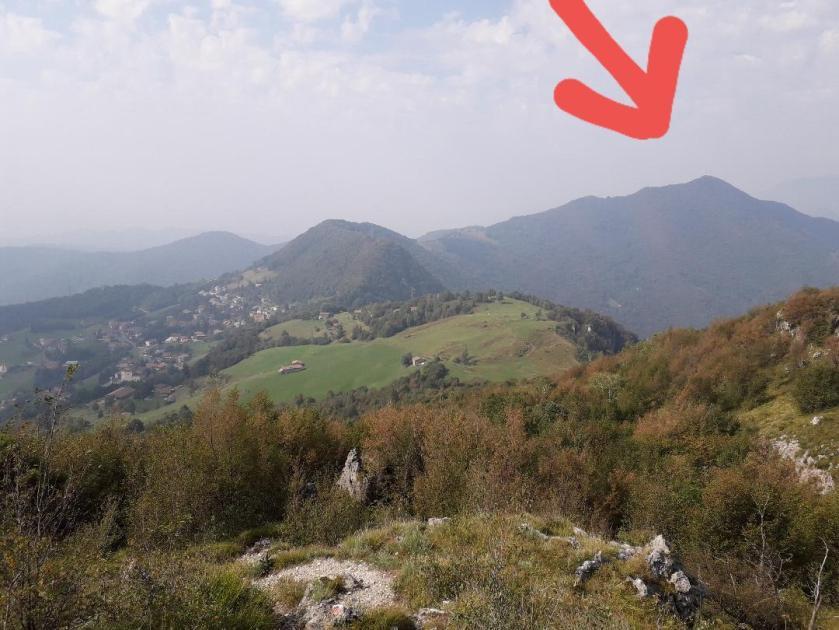 Vista del Canto Alto dalla Filaressa