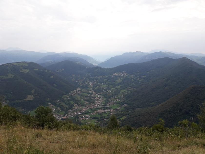 Vista sulla Valle del Lujo