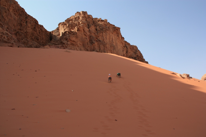 Duna nel Wadi Rum