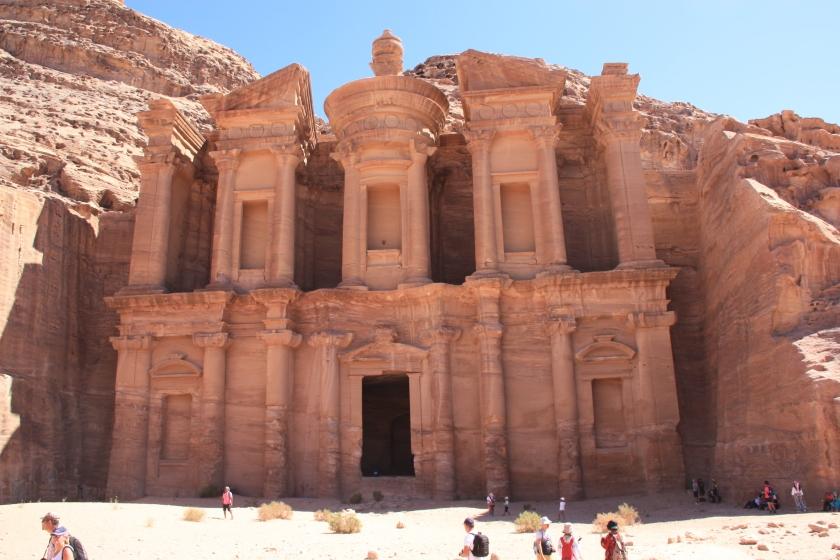 Il monastero a Petra