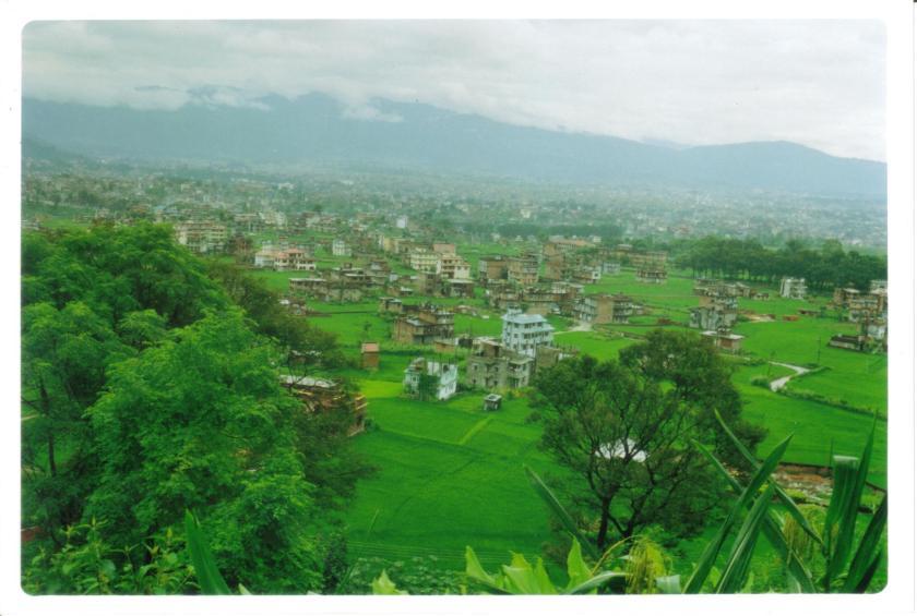 Panorama di Kathmandu