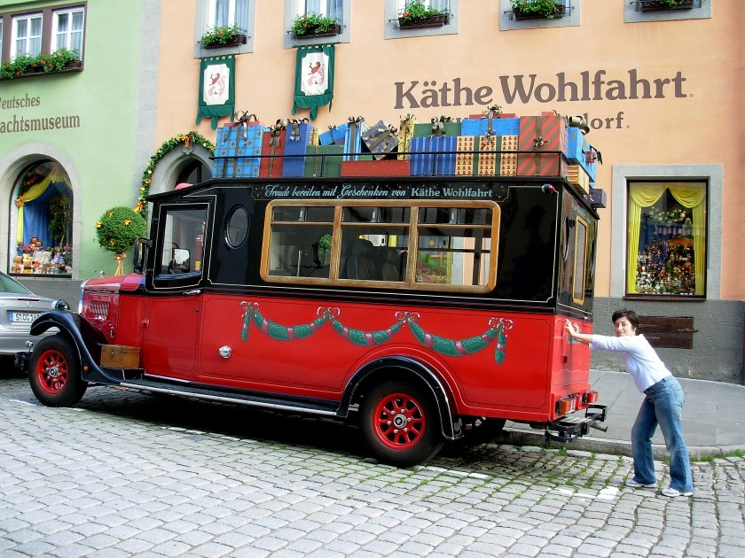 Esterno del negozio Kathe Wohlfanrt