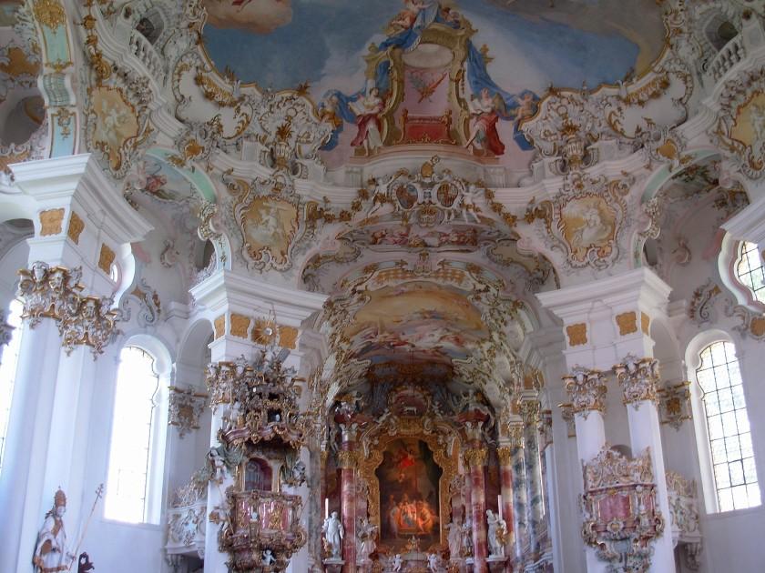 Interno della Wieskirche