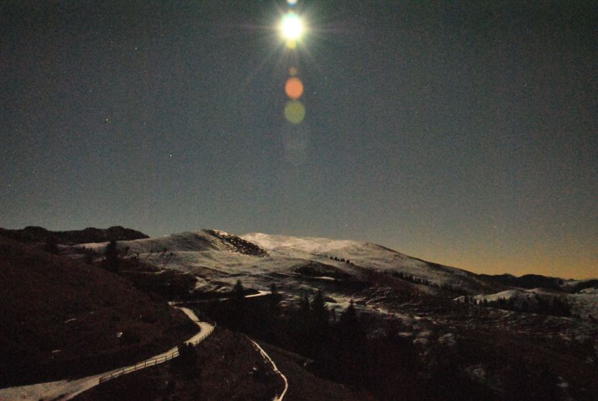Pista della Montagnina by Night