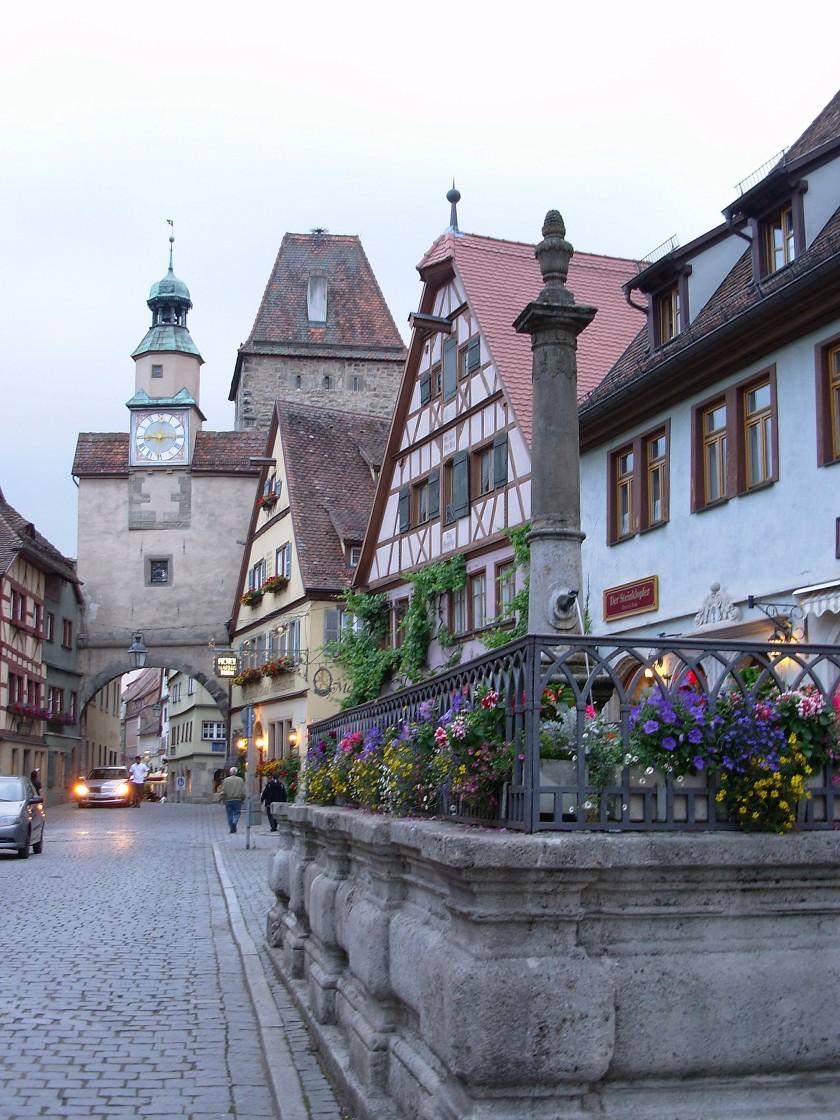Vie di Rothemburg ob der Tauber
