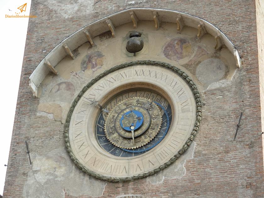 Orologio astronomico a Mantova