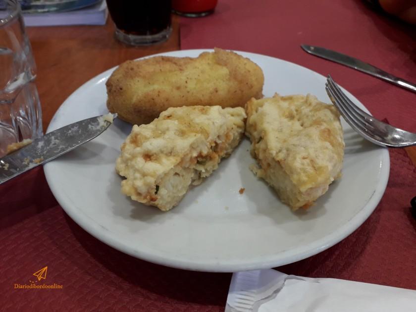 Frittatina e crocchè a Napoli