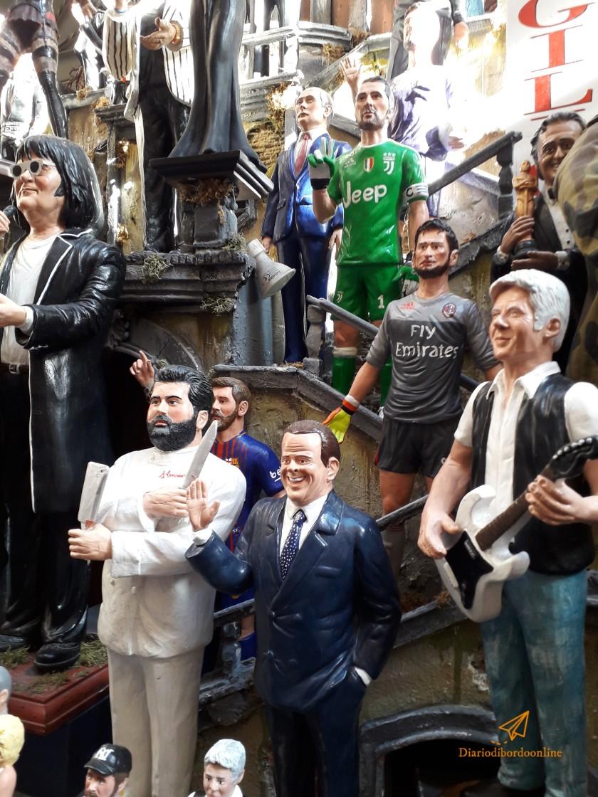 Statuette del Presepe a Napoli