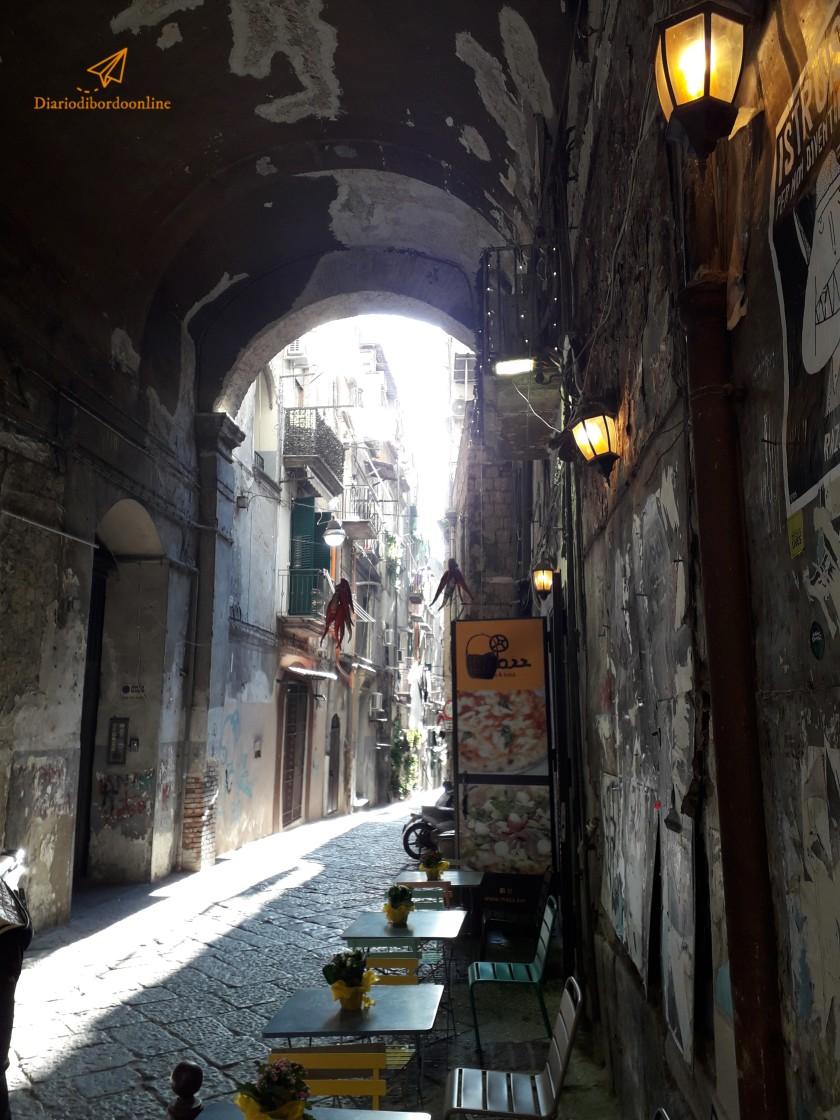 Vicoli del centro storico di Napoli