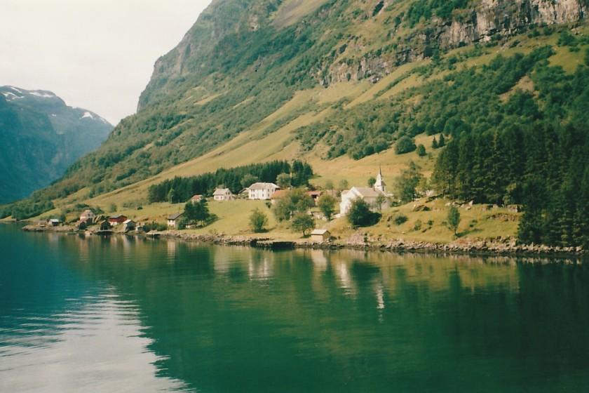 Paesino sui fiordi