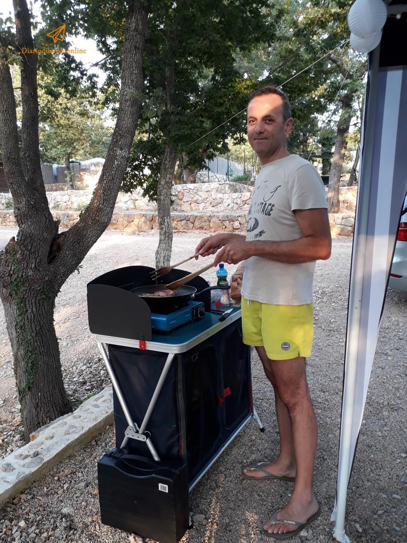 Cucinetta da campeggio
