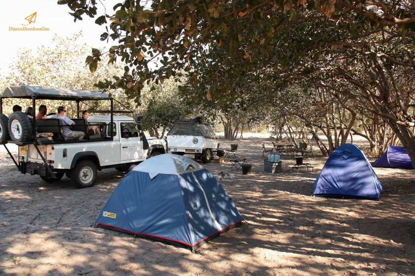 Safari Camping in Botswana