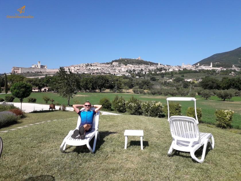 Relax in giardino ad Assisi
