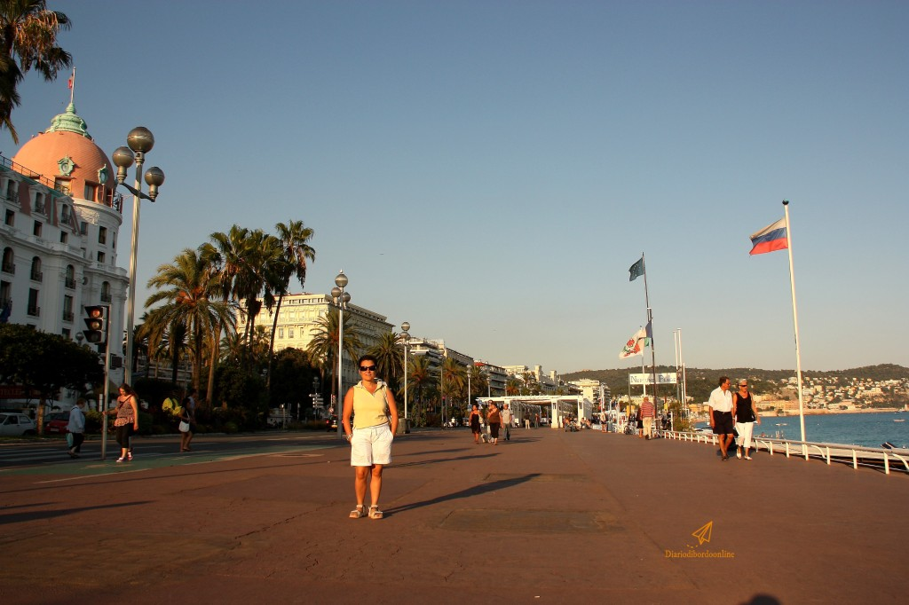 Promenades des Anglais a Nizza