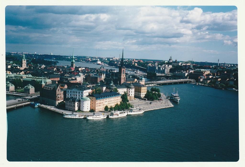 Stoccolma dall'alto