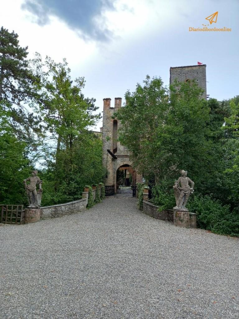 Ingresso del Castello di Gropparello